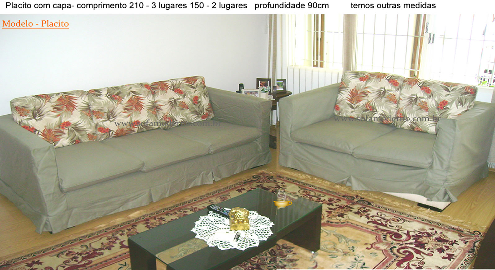 Capa de Sofá - capa de sofá sob medida, capa para sofa de ...