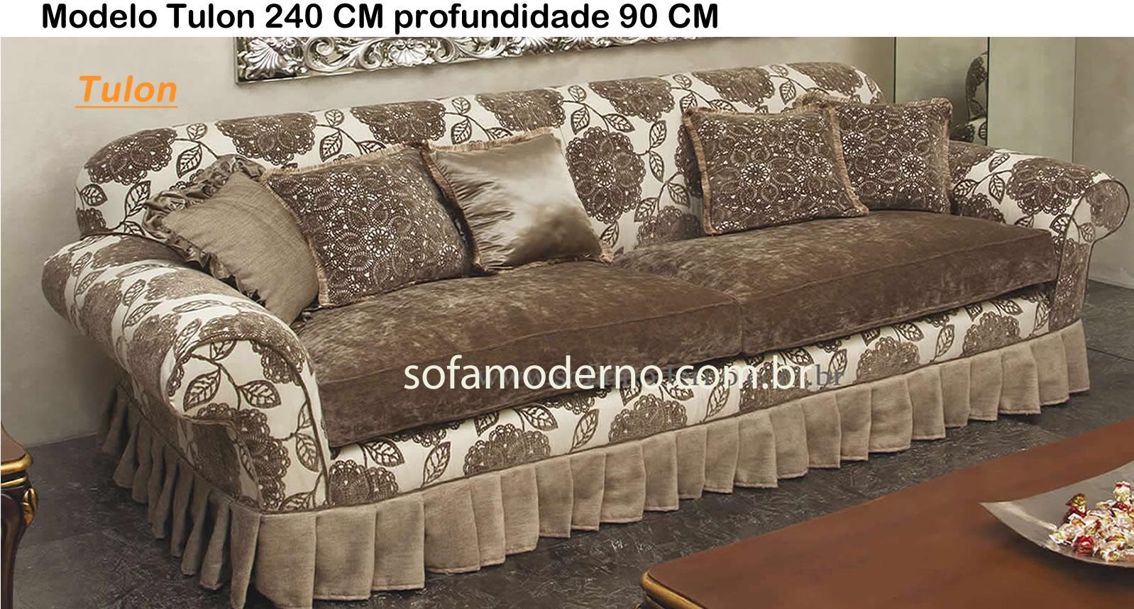 Sof 225 Antigo Com Design Original Maravilhoso